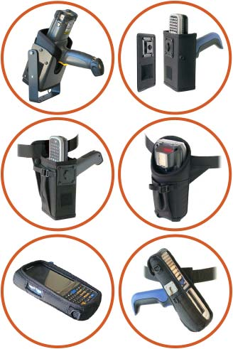 scanner holsters and covers