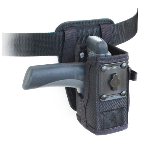 Hip holster for Zebra 3600CR with pistol grip and Belt