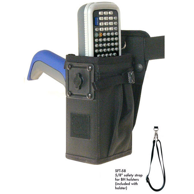 Left/right hip holster for Intermec CN30 with pistol grip