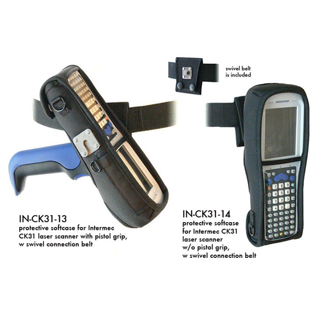 Protective softcase for Intermec CK31 laser scanner