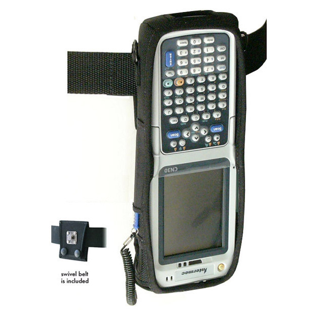 Protective softcase, keys and displayed exposed, for Intermec CN30 w/o pistol grip, w swivel connection belt