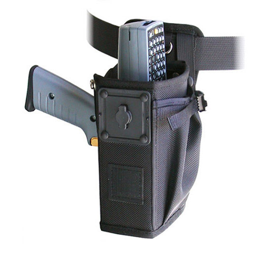 Left/right hip holster w belt w safety strap, Intermec 2415