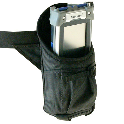 Hip holster for Intermec CK60 w/o pistol grip, w built-in belt