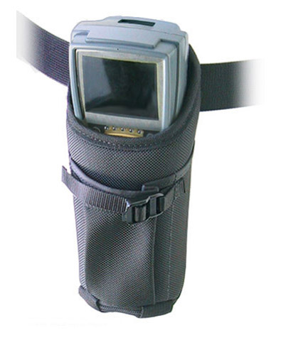 Hip holster w belt, Intermec 2415