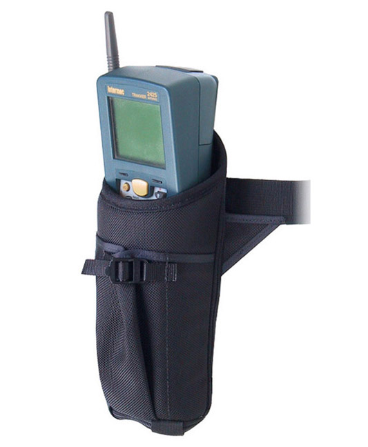 Hip holster for Intermec 2425 no scan handle, built-in belt.