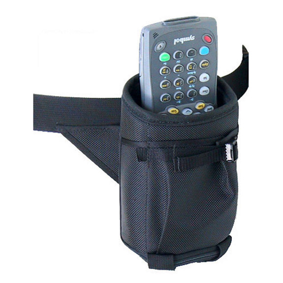 Hip holster w belt, Zebra-Motorola 8100