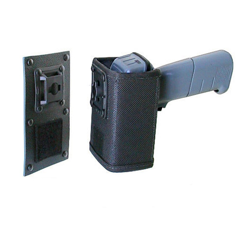 Mountable holsteor Zebra-Motorola LS3200 scanner, attach to dashboard, wall or tie to post.