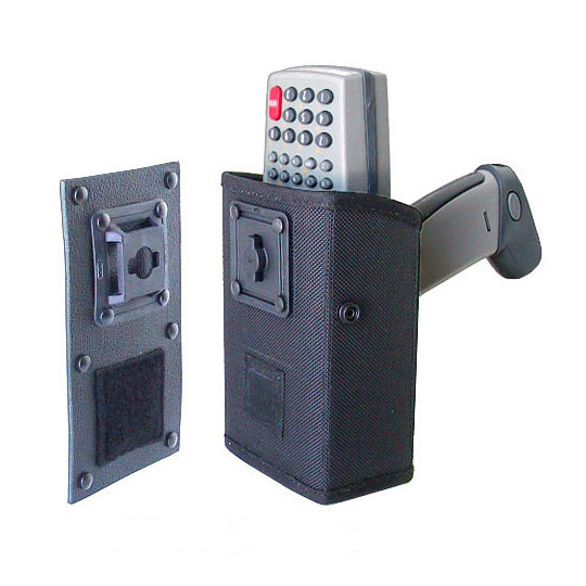 Mountable holster for Zebra-Motorola PDT6800, attach to dashboard